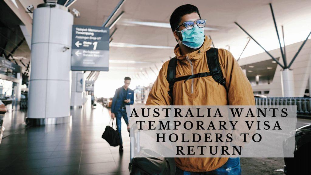 Australia Temporary Visa Holders