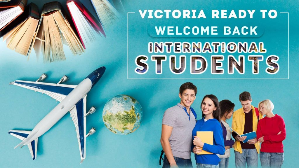 Victoria Ready to Welcome Back International Students