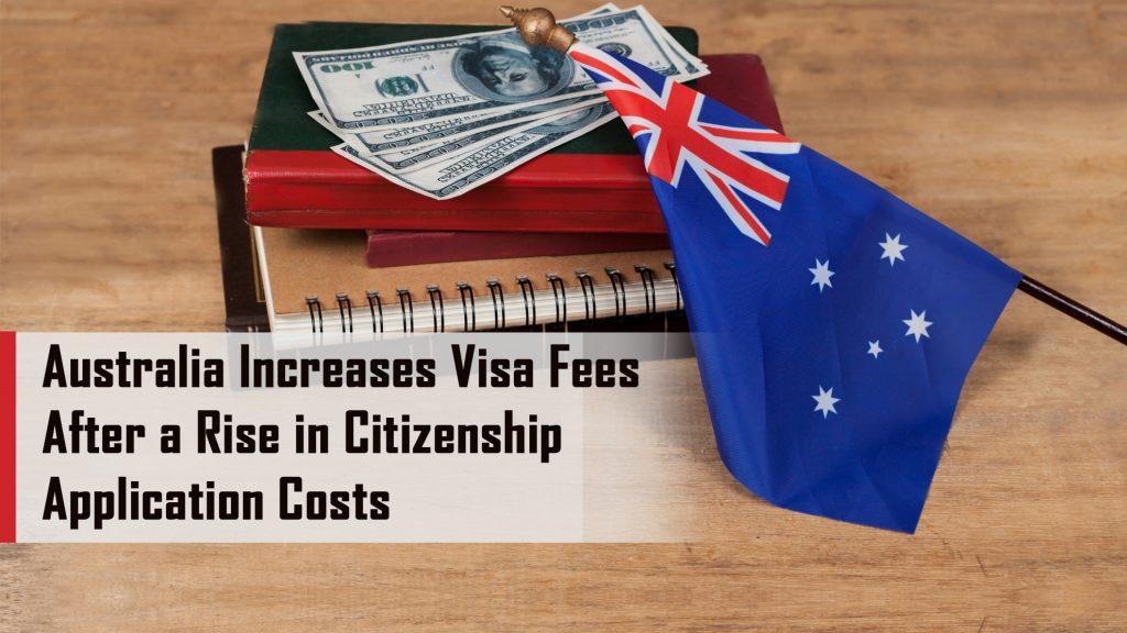 Australian citizenship Visa Fee